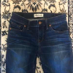 Madewell Cropped skinny jeans